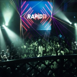DJ for Rapid7 party
